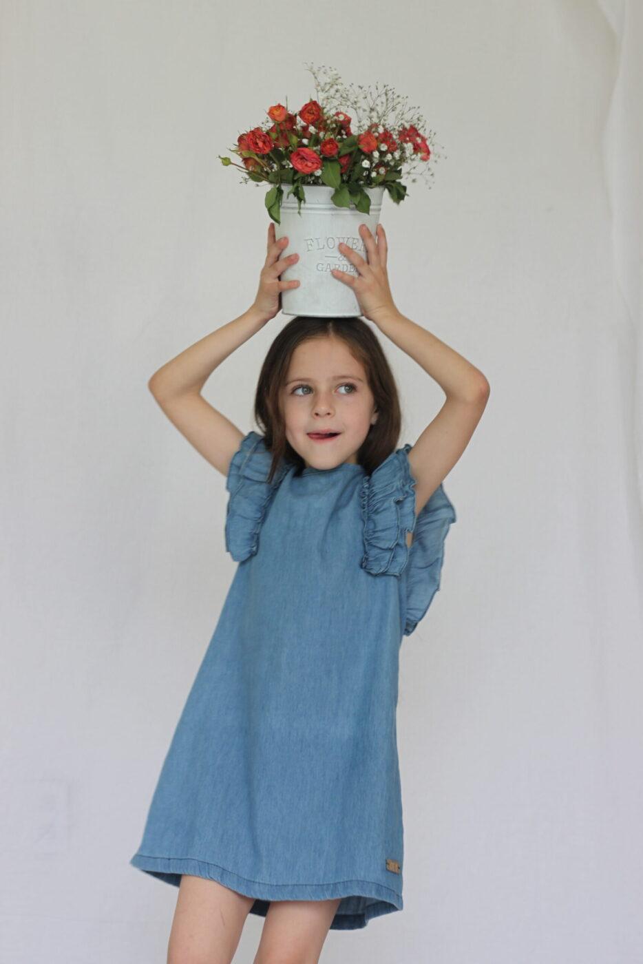 Vestido Doble Olan Hombro – 2