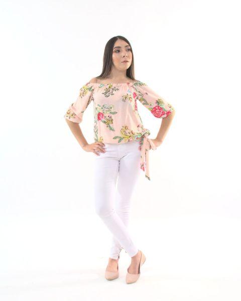 Blusa Cintura Lazo – 967
