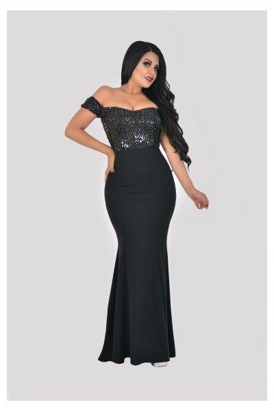 Vestido Largo Corte Sirena – VL9299