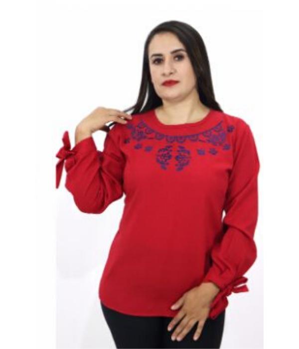 Blusa Bordada Moño – 265