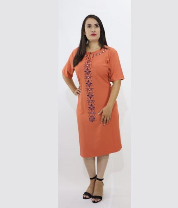 Vestido Bordado Linea – 546