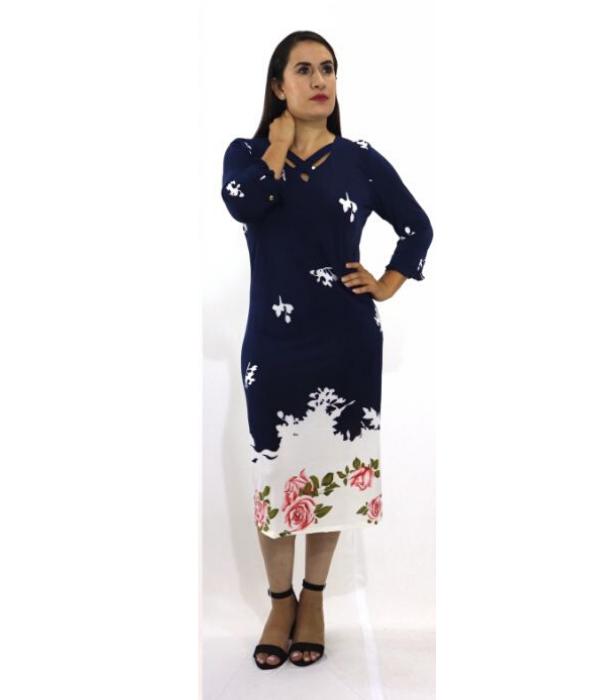 Vestido Licra Estampado – 608