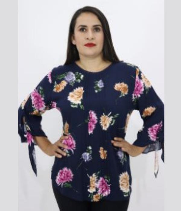 Blusa Estampada Flores – 614