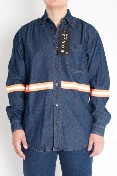 Camisa M/Larga Con Refejante- 05TE