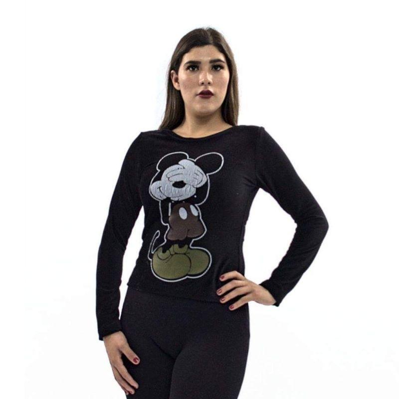Blusa Mickey M.L. Tela Tipo Pana Strech – 306