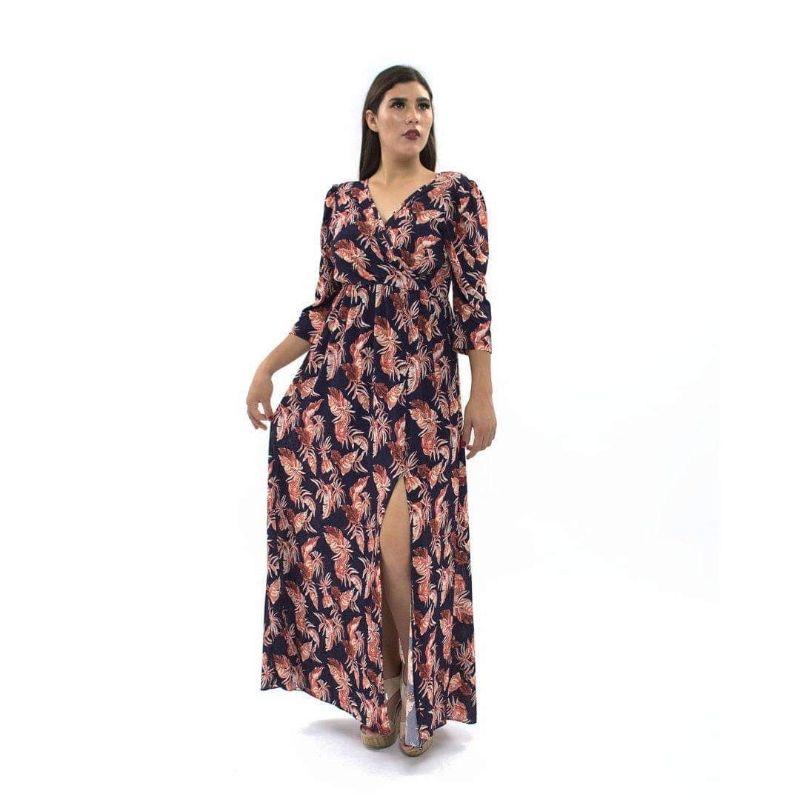 Vestido Largo Estampado – 312